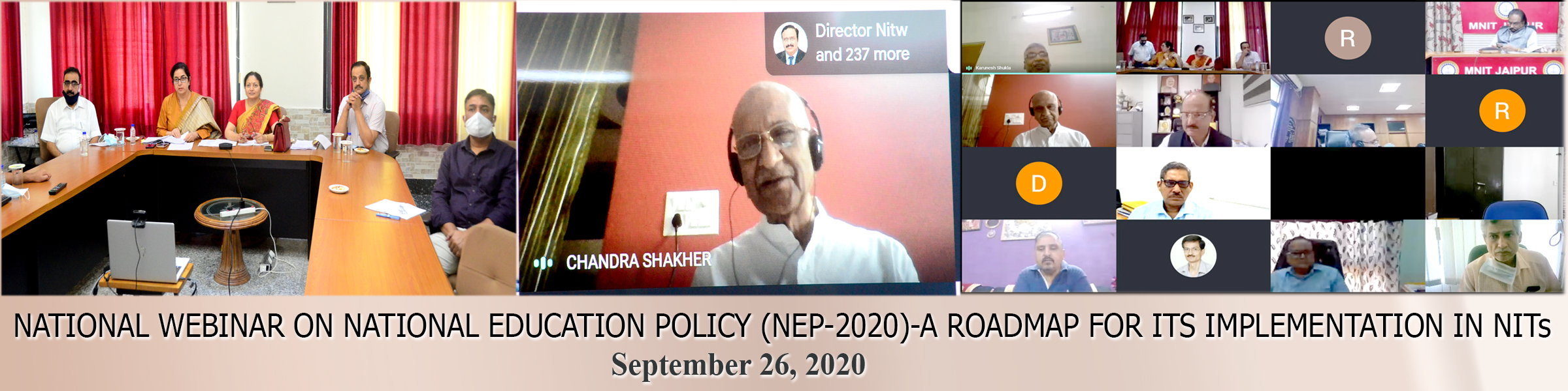 National Webinar  on  National Education Policy (NEP-2020)