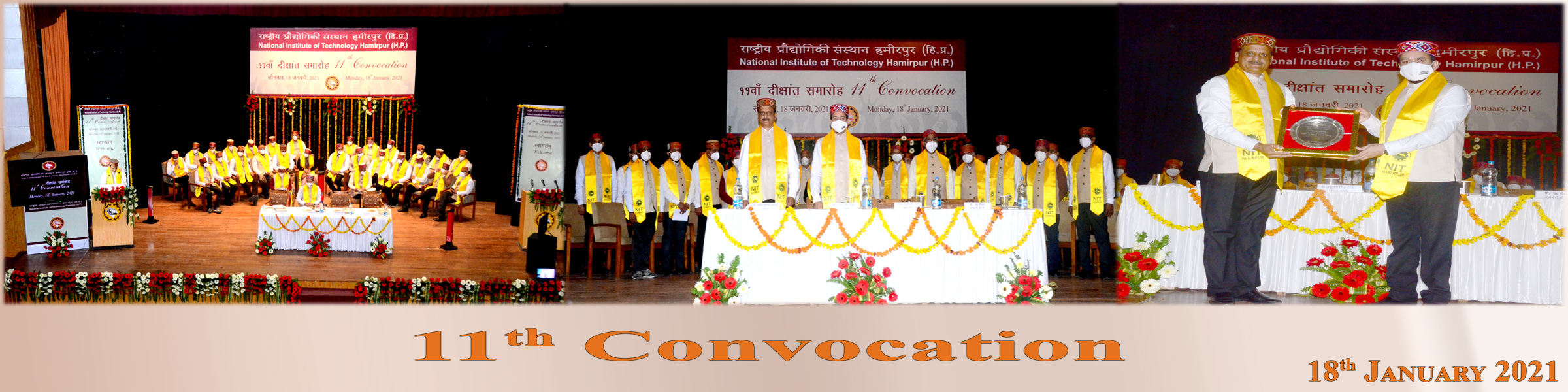 11th Convocation NIT Hamirpur 2